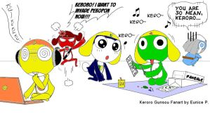 Keroro Colouring Time by HealerCharm
