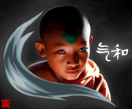 Avatar Aang by HaNJiHye