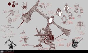 Steampunk_Pumpjack by Wardyworks