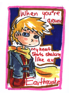 Valentine Card: Matthew by HappehCakes