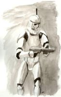 Clone Trooper by jtpark