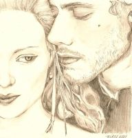 Lucrezia and Cesare by nikes