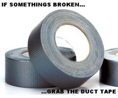 DUCT TAPE by freakofnature35