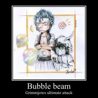 Grimmjow motivational poster by TeezTheWammyGamer