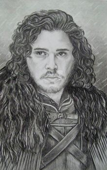 Bastard of Winterfell. King of the North by AnnyMedicine