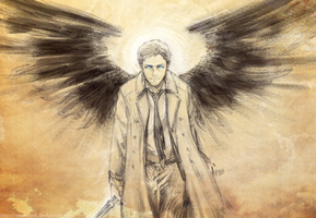 SPN - Castiel by Meinarch