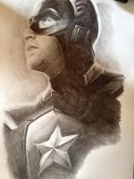 Captain America 2014 by PatrickRyant