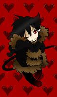 Izaya Kitty Chibi by MihaelLawliet