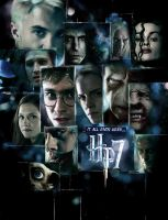 'HP7' poster - 'LOST' style by AndrewSS7