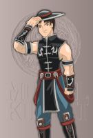 MK 9 - Kung Lao by Wyvern07