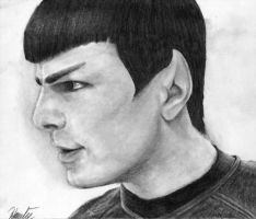 Conflicted Vulcan by yamihoole