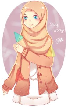 stay strong by Naomi-ness