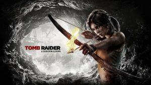Tomb Raider 2013 - Wallpaper Bow and Fire Arrow 2 by Atomicxmario