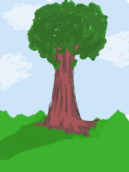 Sketch this 15 minute tree challenge by Firephoenix83