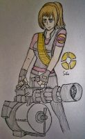 Titan Fortress 2 - Heavy Weapons Sasha by Fil101