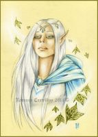 Winter elf by RossanaCastellino