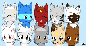 Guess the cats by Blazestar12