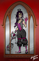 Keyblader in the Mirror by Snowy-Dragoness