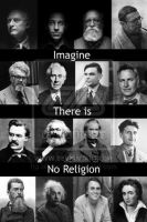 Atheism Collage by Mcnicky