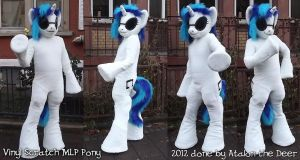 Vinyl Scratch DJ Pony MLP Fursuit by AtalontheDeer