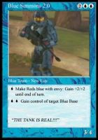 Blue Simmons the Magic Card by MetalMachine489