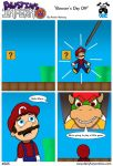 Bowser's Day Off by DairyBoyComics
