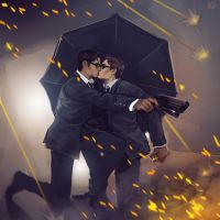 Kingsman - commission 2 by maXKennedy