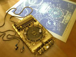 Steampunk iPod by otas32 by 3D-Asuarus