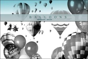 balloons by anaRasha-stock