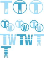 Time Warner Logo Drafts by SeeMooreDesigns