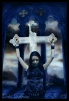 Lilith's Crucifixion by silentfuneral
