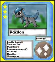 Pacdon Card (Adopt) by Dianamond