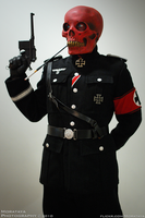 Red Skull by Morataya