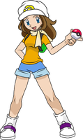 Pokemon trainer Maruska by PuffyMumuDodi