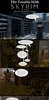 Trouble with Skyrim Innocence, My Brother Prologue by Sir-Douglas-of-Fir