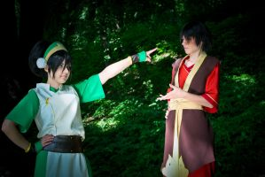 ATLA - Shut your mouth! by FirehawkCosplay