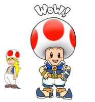 Toad for Captain Jamesman by pocket-arsenal