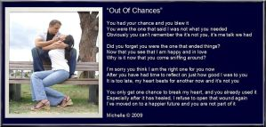 Out Of Chances by VisualPoetress