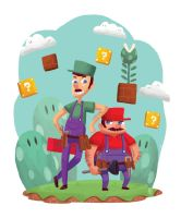 Welcome to Mushroom Kingdom by Felolira