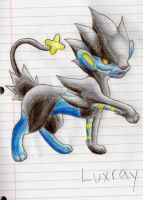 Luxray by Ann-Who-Draws-A-Lot