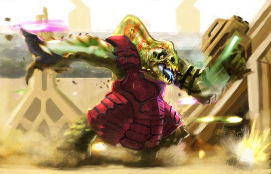 Kreen Gladiator by partical0