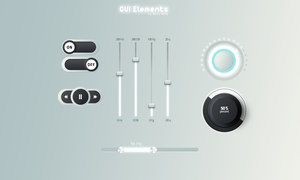 GUI ELEMENTS by BorisWick