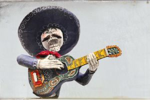 The Mexican Guitarist. by studiumprzedmiotu