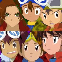 Digimon Leaders by skylights01
