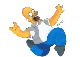Homer by MikeES