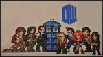 Doctor Who gang (01/2014) by Jelizaveta
