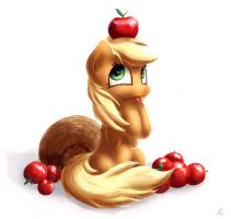 Apple by HieronymusWhite