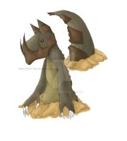 Fossil Fakemon Final Evo by Shii7