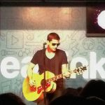 Rob Thomas in the Clearlink Lounge by lionessleesha