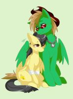 UMD and Banana by Winged-Leafeon